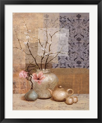 Framed Asian Still Life II Print