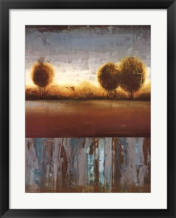 Framed Silver Light II Print