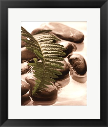 Framed Spring Retreat I Print