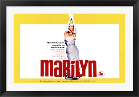Framed Marilyn, c.1963 - Yellow Print