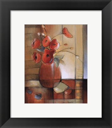 Framed Afternoon Poppies Print