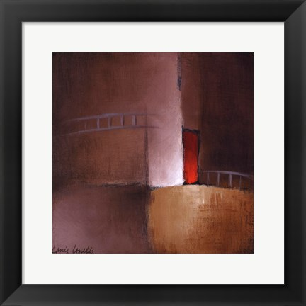 Framed Chocolate Square II Print