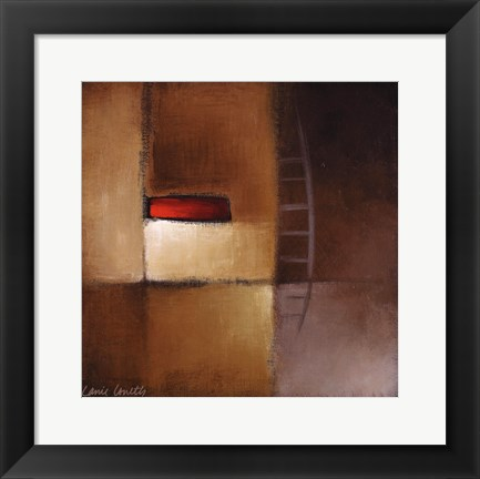 Framed Chocolate Square III Print