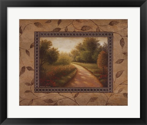 Framed New Country Road Print