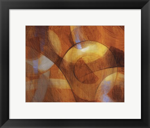 Framed Discovering What Lies Ahead I Print