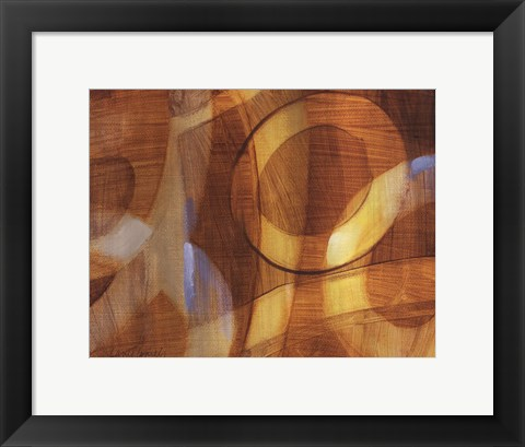 Framed Discovering What Lies Ahead II Print