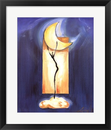 Framed Moon Dance Print