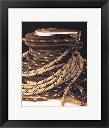 Framed Drasnin Nautical Series I Print