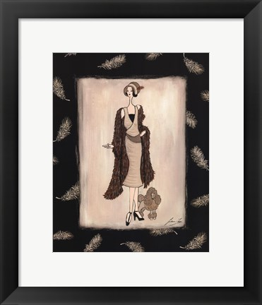 Framed tapp - Haute Afternoon Print