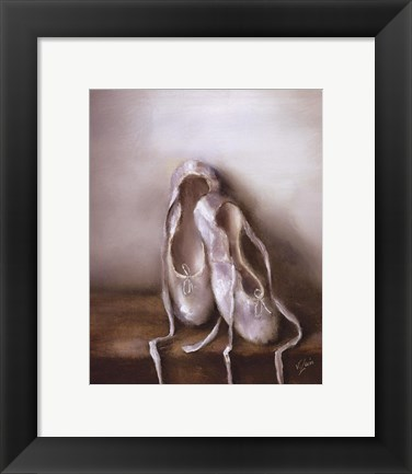 Framed Before the Dance Print