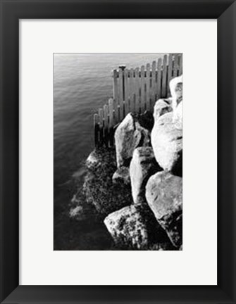 Framed Fenced In Print