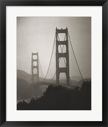 Framed Golden Gate Bridge I Print