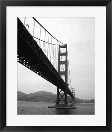 Framed Golden Gate Bridge III Print