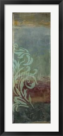 Framed Lush Filigree V Print