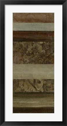 Framed Abstract Slate II Print