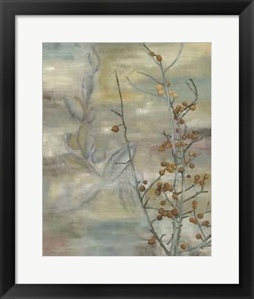 Framed Winter Harvest II Print