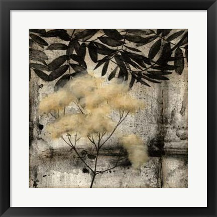 Framed Nature's Breath III Print