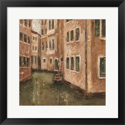Framed Canal View III Print