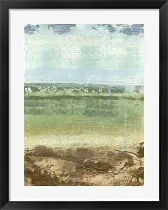 Framed Extracted Landscape II Print