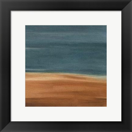 Framed Coastal Vista IX Print