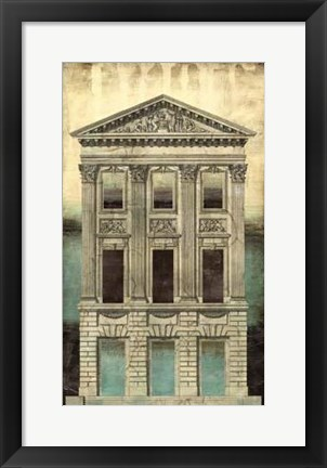 Framed Architectural Illusion I Print