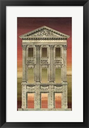 Framed Architectural Illusion III Print
