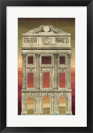 Framed Architectural Illusion IV Print