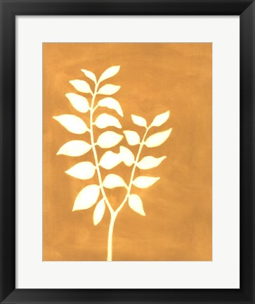 Framed Four Seasons Foliage I Print