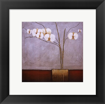 Framed Orchidee I Print