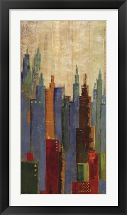 Framed Towerscape II Print