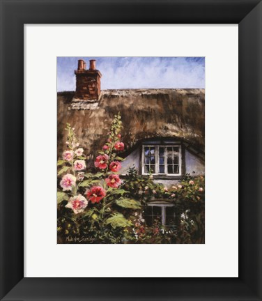 Framed Cottage Of Delights II Print