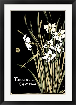 Framed Theatre Du Chat Noir Print