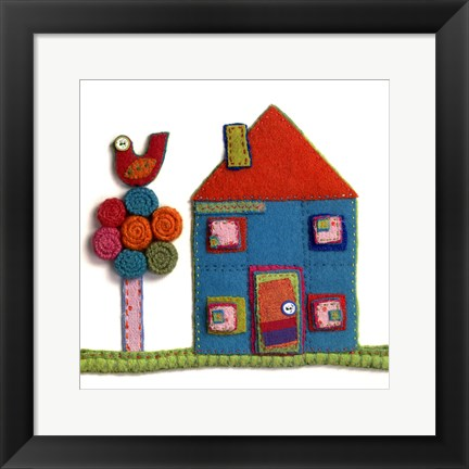 Framed Home To Roost Print