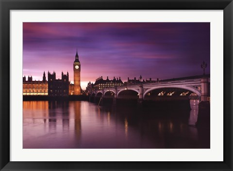 Framed London - Photograph Print