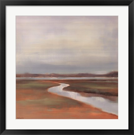 Framed Meander Print
