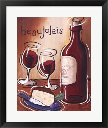 Framed Beaujolais Print