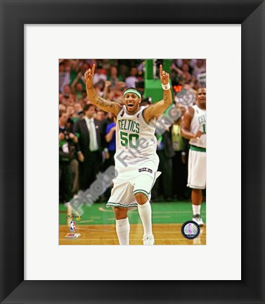 Framed Eddie House, Game Six of the 2008 NBA Finals; Action #27 Print