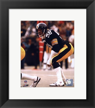 Framed Jack Lambert Action Print
