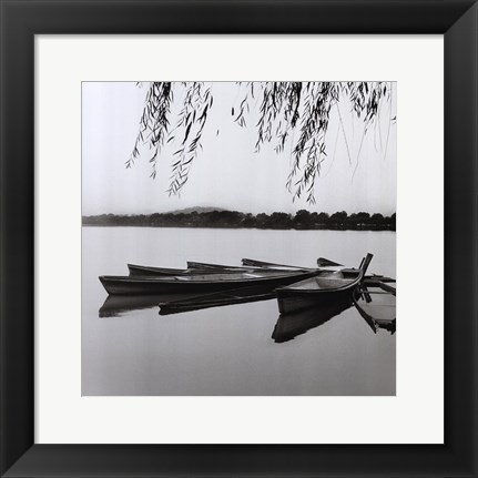 Framed Mirrored Water Print