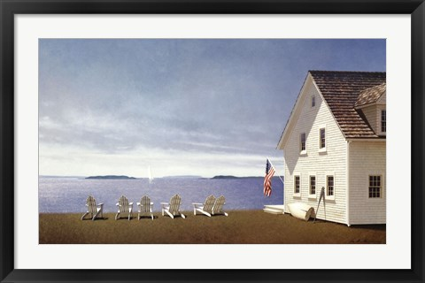 Framed Summer Retreat Print