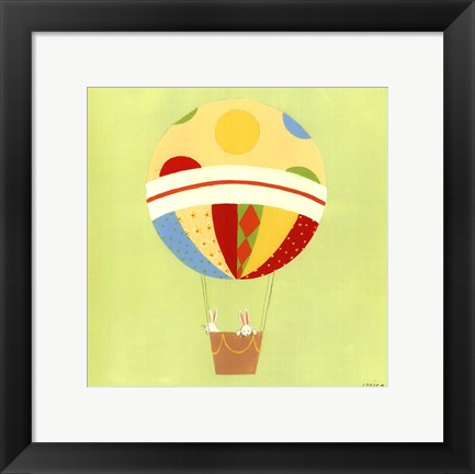 Framed Up, Up and Away IV Print