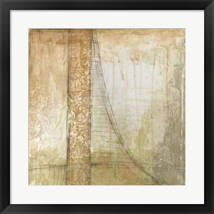 Framed Iron and Lace IV Print