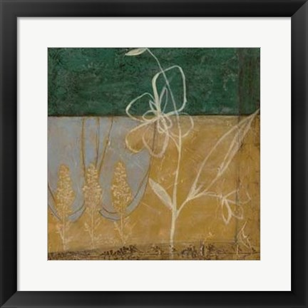 Framed Pressed Wildflowers II Print