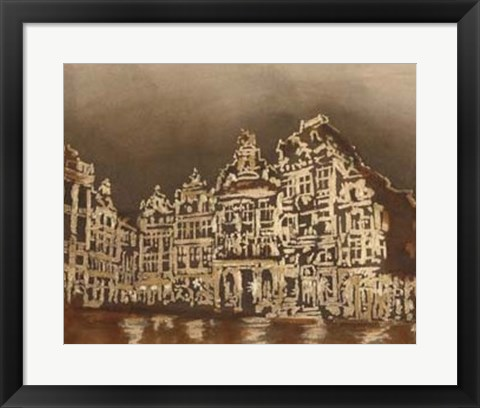 Framed Brussels I Print