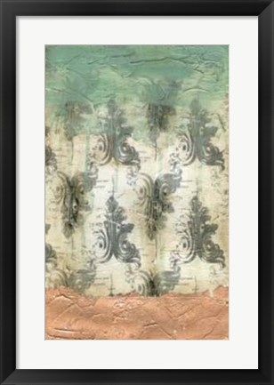 Framed Antique Baroque I Print