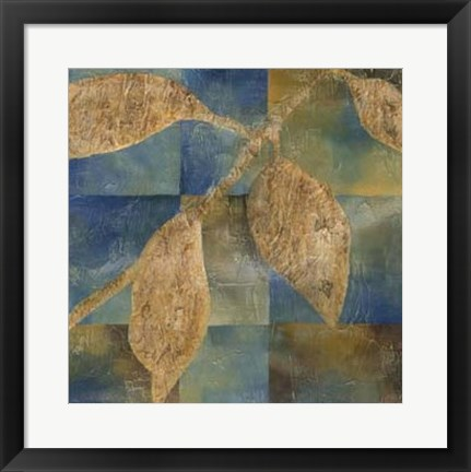 Framed Burnished Branch II Print