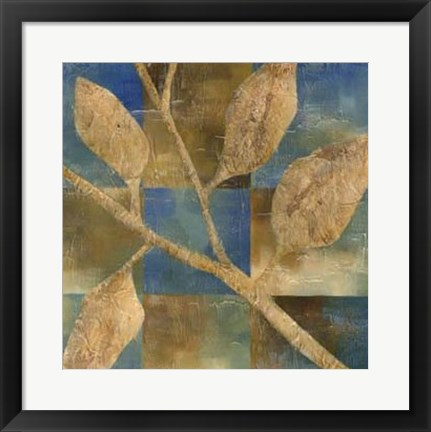 Framed Burnished Branch IV Print