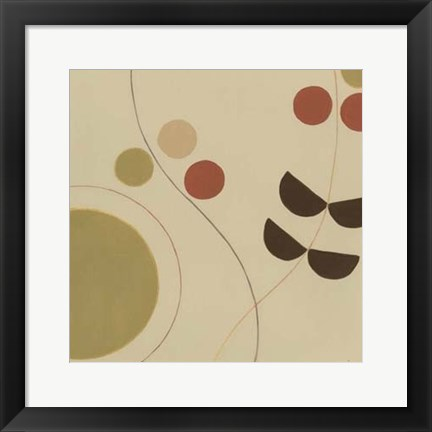 Framed Autumn Orbit III Print