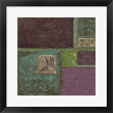Framed Abstract Details II Print