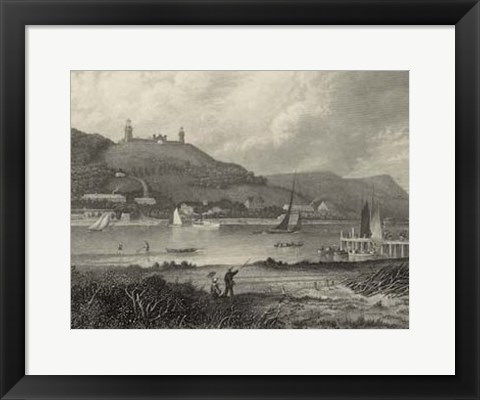 Framed Scenic City Views II Print